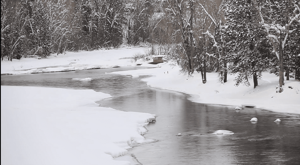 Ravalli County Snow Flooding