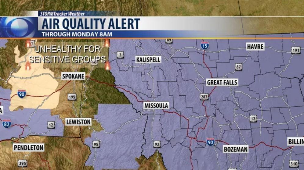 Montana Air Quality Alert