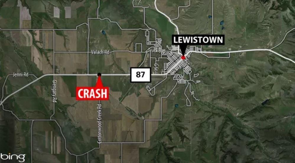 Fatal crash near Lewistown