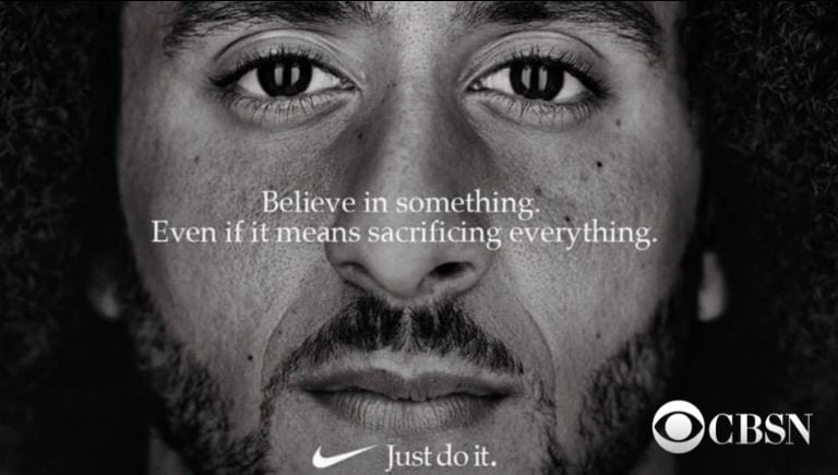 Colin Kaepernick ad