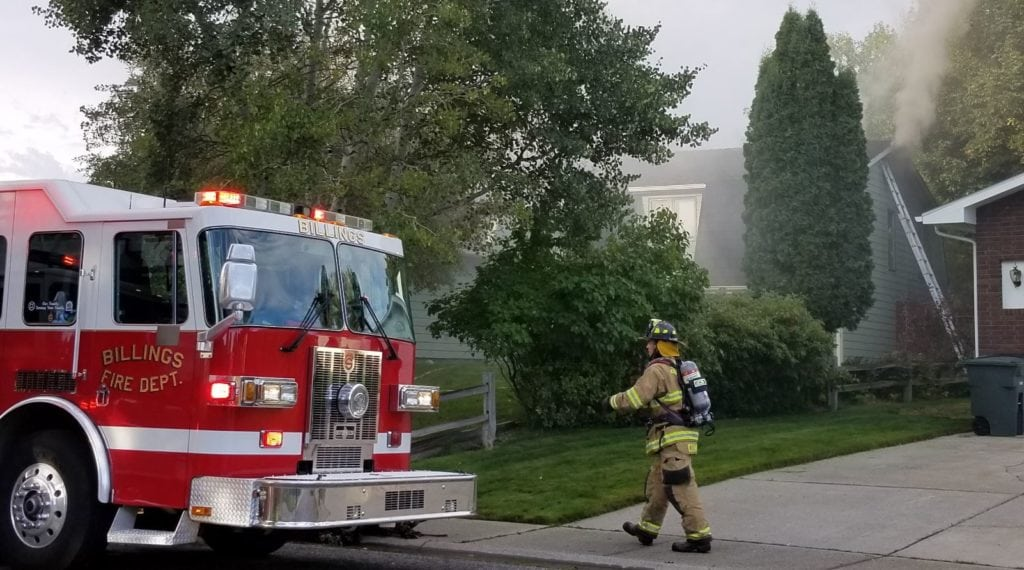 Heights house fire