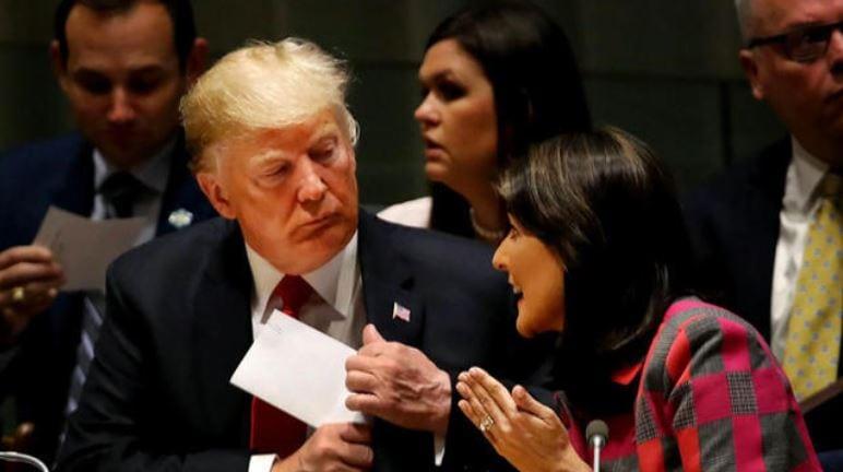 Trump at United Nationas