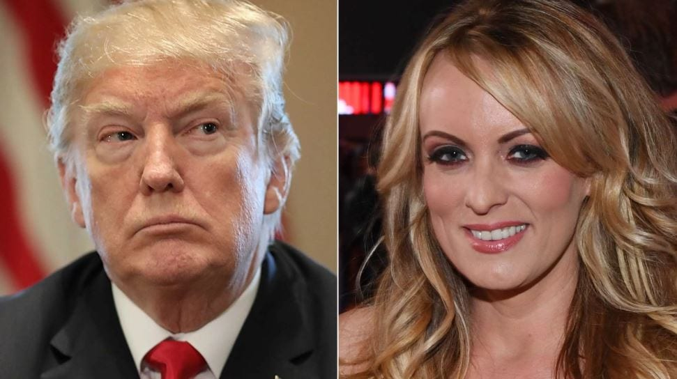 Trump and Stormy Daniels