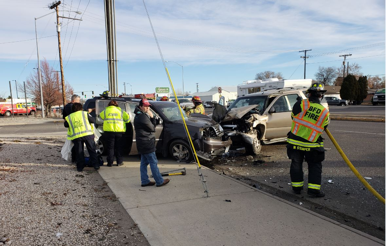 Main Street crash