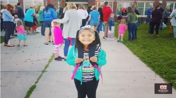 Allison Eaglespeaker was a kindergartner at Russell Elementary School in Missoula.