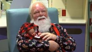 Santa at St. V's