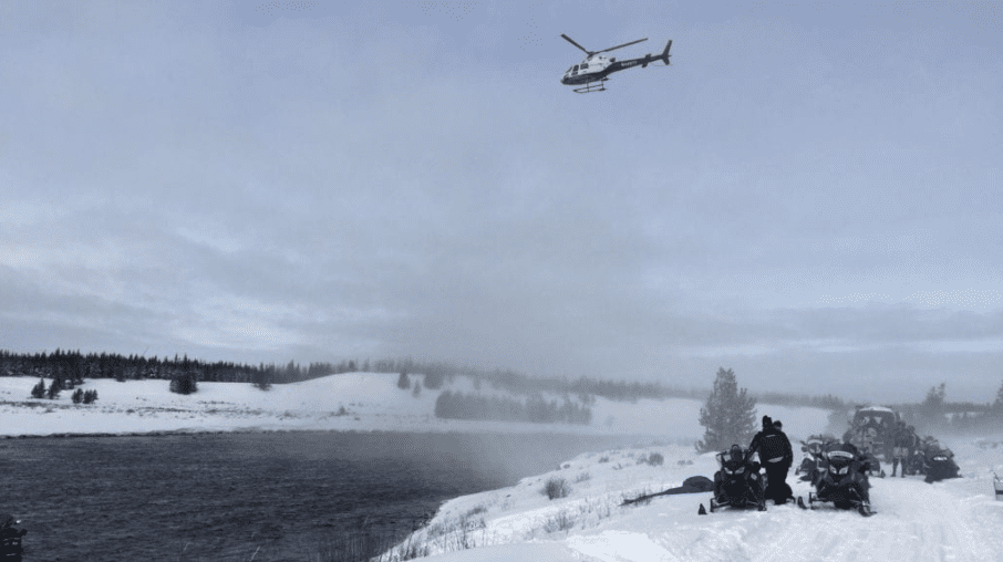 Snowmobile Accident Throws New York Woman Into River In Montana With Broken Leg