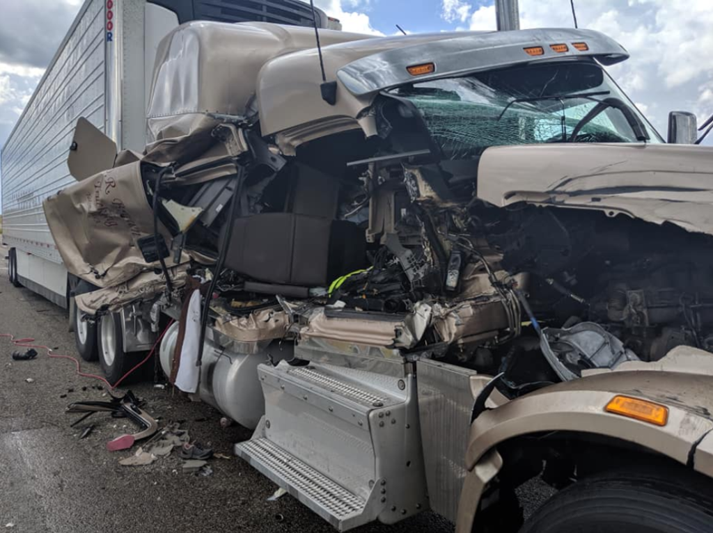 Two Injured In Afternoon Semi Forklift Crash Near Forsyth