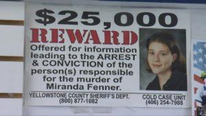 fenner, miranda reward poster